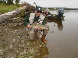 Manuel up fish river