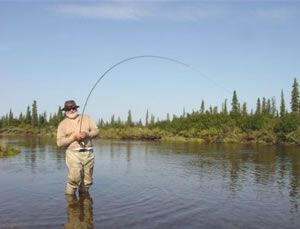 fly fishing in Alasaka