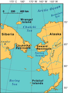 Bering Sea- Russia to Alaska