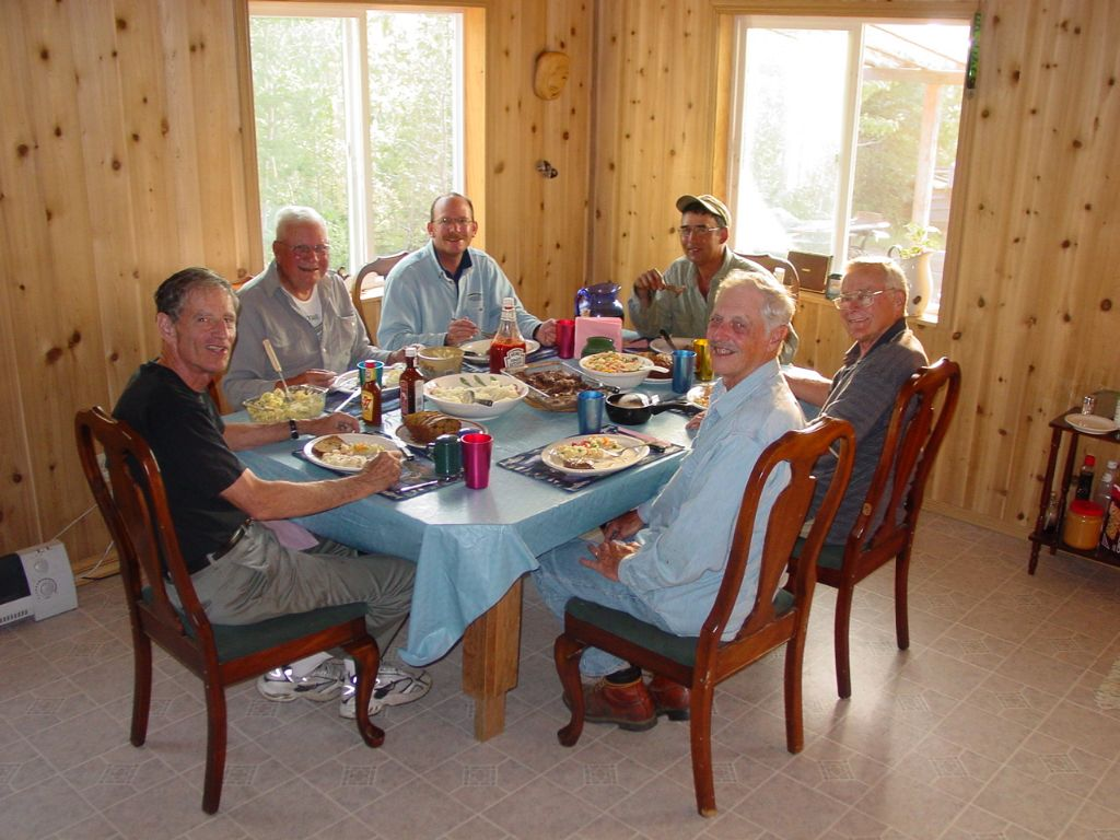 Home cooked meals at the Fishing Lodge