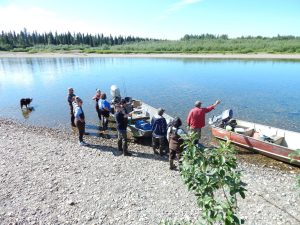 Getting-ready-for-fishing-on-the-Alaska-River