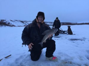 Ice-Fishing -Grayling