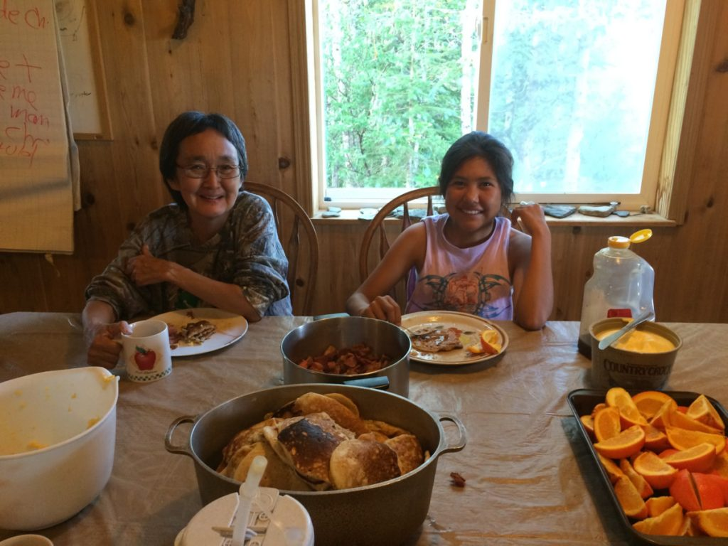 Home-cooked Meals at the Lodge