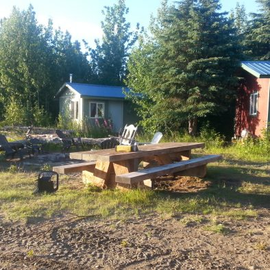Cabins, Firepit, Picnic Table