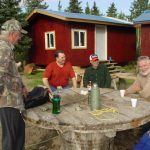 prepare for fishing at Alaskan NW Adventure Camp