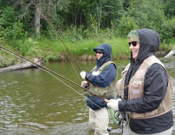 Best Friends Fishing on Alaskan NW Adventures Fishing Trip