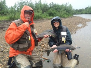 Grayling catch Alaska