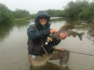 Grayling catch