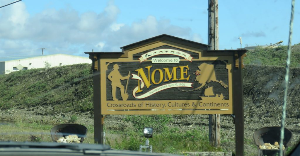 Welcome to Nome Alsaka