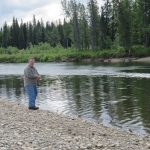 Fishing on the Banks of Gray's Fish Camp - Good Times- Alaskan NW Adventure