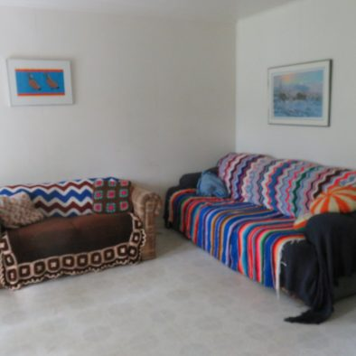 Inside the Cabin -Couches