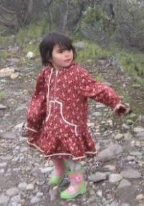Child wearing a Kuspuk