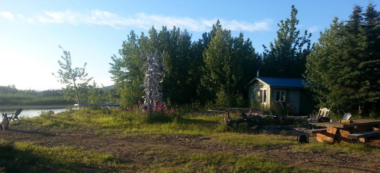 Rustic Camp in Rural Alaska